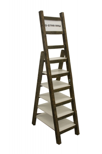 HN70 - Houten ladder display